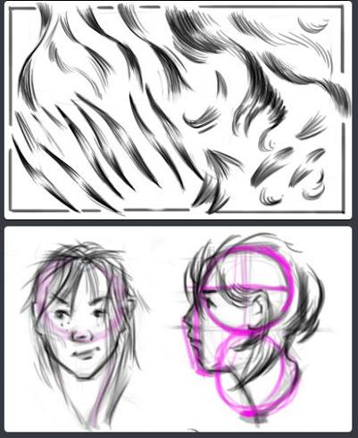 hoe teken je een portret,portret tekenen,leren portret tekenen,een charachter tekenen,character design,gezichten tekenen,nek tekenen,portret laten lijken,