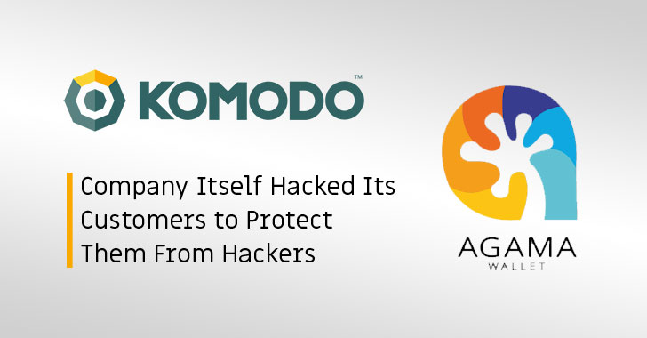komodo agama wallet hacking