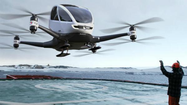 دبي ستطلق مشروع طائرات من دون طيار لنقل الأشخاص