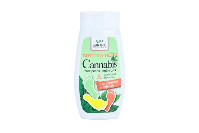 Bione Cosmetics Cannabis Foot Cream Review