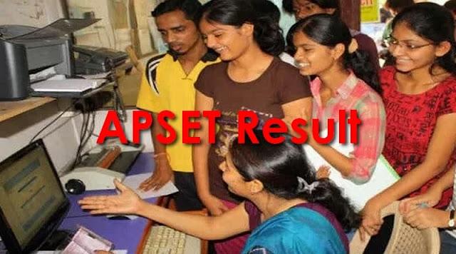 APSET Result