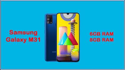 Samsung Galaxy M31 New 8GB Variant Sale in India (Soon)
