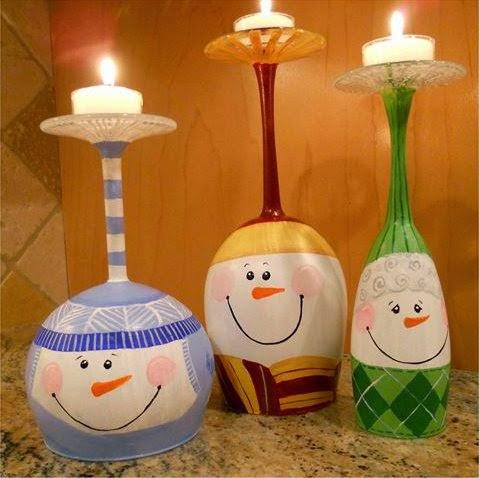 Babbo Natale Fatto Con I Bicchieri Di Plastica.Fatto In Casa Creare Dei Portacandele A Tema Natalizio Con
