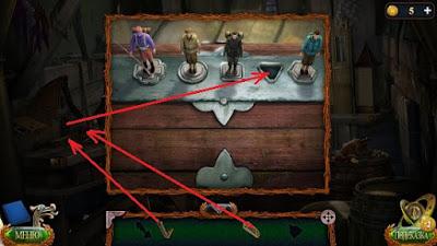 фигурки солдатиков на крышке ящика в игре затерянные земли 4 скиталец