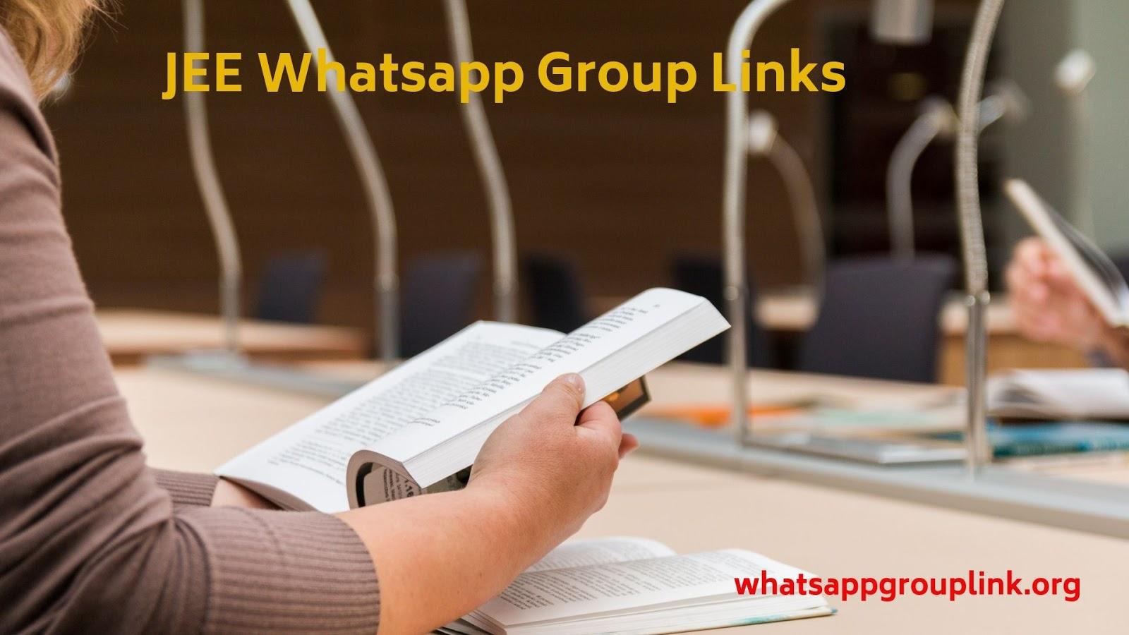 Whatsapp Group Link: JEE Whatsapp Group Links