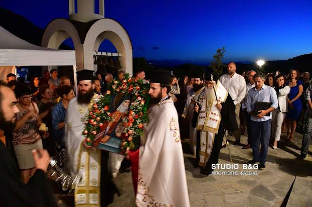 Αρχιερατικός εσπερινός για την εορτή του Αγίου Λουκά στα Λευκάκια Ναυπλίου (βίντεο)
