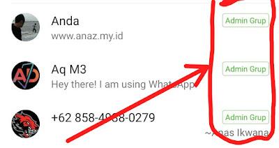 Cara Menjadikan Admin Grup WhatsApp Terbaru 2020