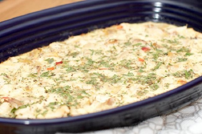 Egg & Lemon Chicken Casserole