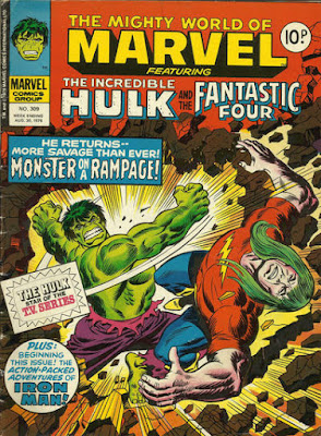 Mighty World of Marvel #309, Doc Samson