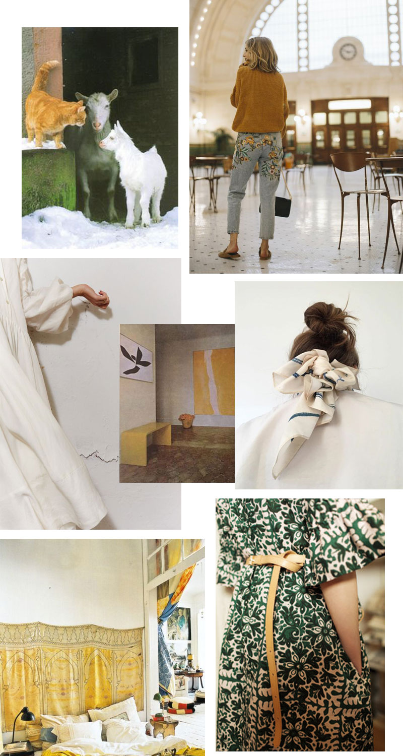 March Mood Board - Style Interplay