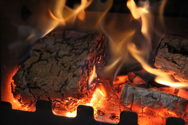 how to burn bark briquettes