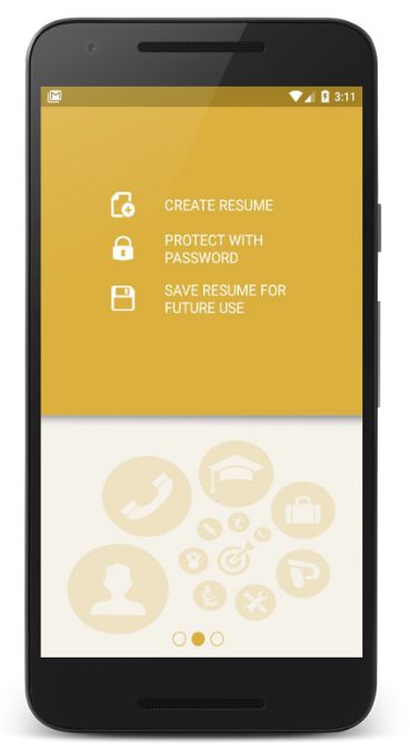 free resume apps - Apmayssconstruction
