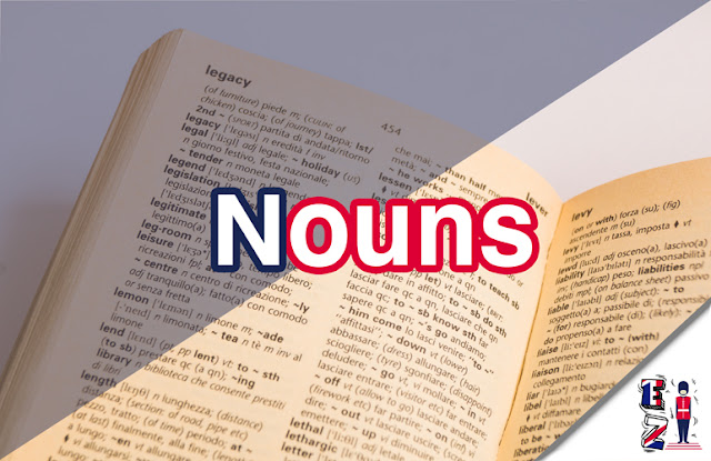Nouns are words that describes objects things or feelings