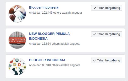 Kumpulan Grup Whatsap/Facebook Blogger Wajib Masuk