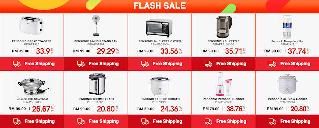 Senheng Promo Code Flash Sale Pensonic Products Discount Offer Price