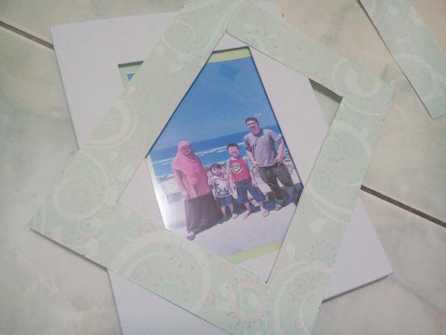 DIY Photo frame eno greeting