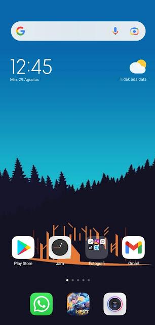 Cara Menghilangkan Tombol Navigasi (Navbar) di HP Xiaomi