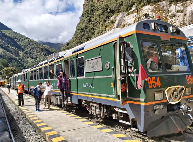 Como chegar a Machu Picchu - Viagem de Trem