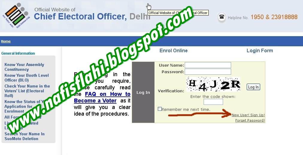 How To Apply For Pahchan Patra Voter id Card online