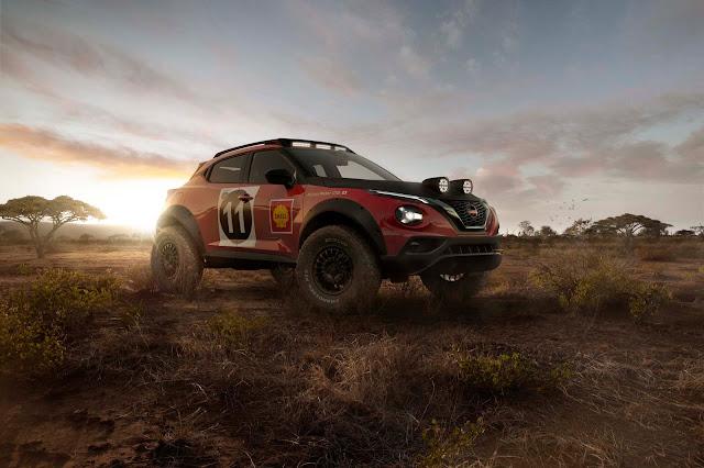 Nissan JUKE Rally Tribute Concept