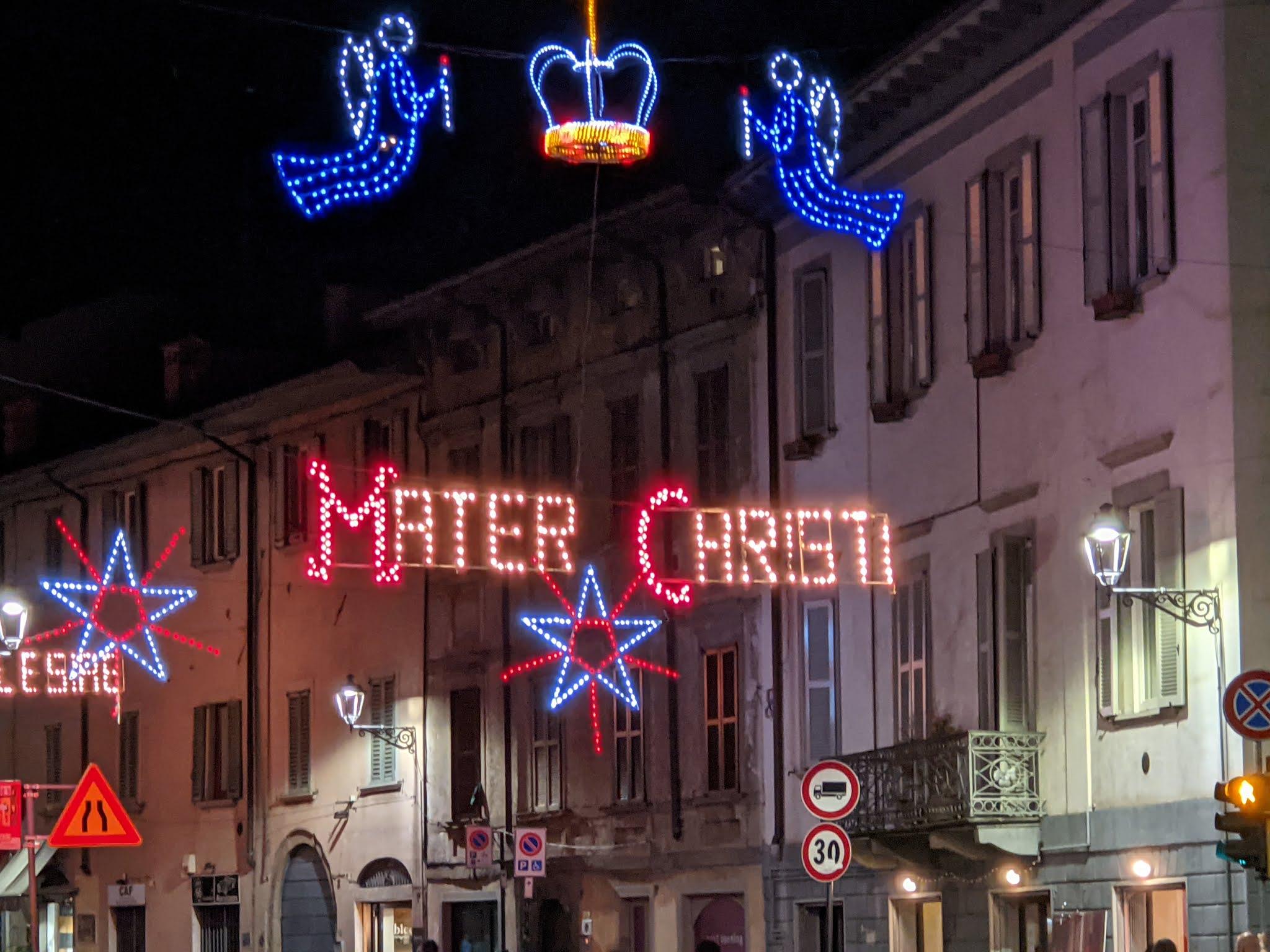 Santa Caterina Bergamo - Festa dell'Apparizione - Mater Christi