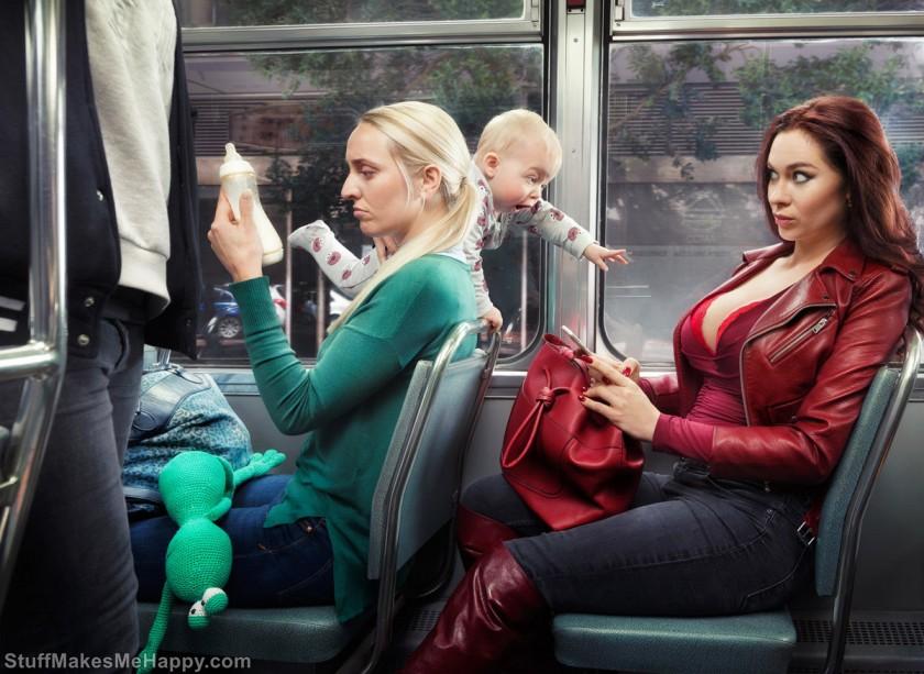 Hilarious Photographs by Arthur Mebius (Photo Manipulations Ideas)