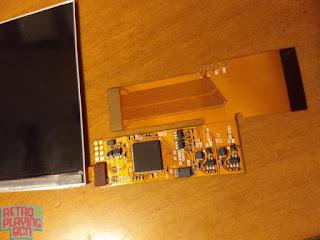 placa y pantalla gba ips