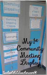Introduce your 3rd, 4th, or 5th grade students to a morning meeting routine that introduces key themes in literature and complements the common core standards for theme and other reading standards. Morning Meeting is my favorite way to create a sense of classroom community, belonging, and encourage kindness.
