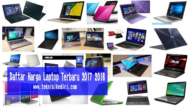 Harga Laptop bekas dan baru terupdate