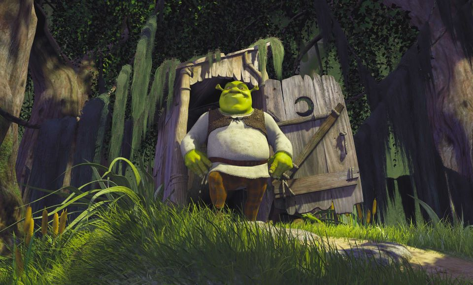 Shrek 20th Anniversary in Movie Theaters Nationwide Apr. 25, 28 & 29