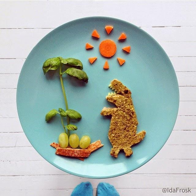 وجبة إفطار مرحة للأطفال