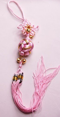 Pink Chinese Knot Chain