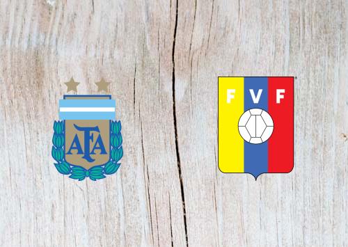 Argentina vs Venezuela Full Match & Highlights 22 March 2019