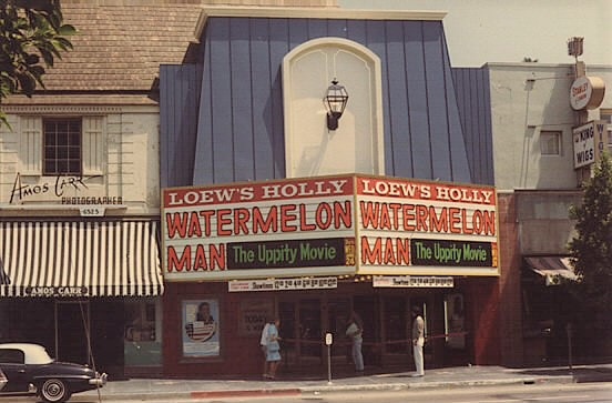 Los Angeles Theatres: Holly Theatre