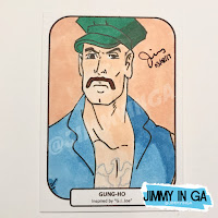 "Gung-Ho - Copic Makers on 2.5"" x 3.5"" Sketch Cards"