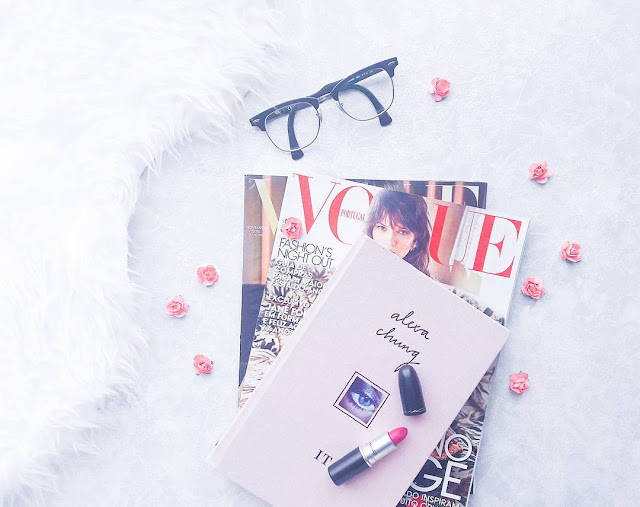 Vogue Magazines, It by Alexa Chung and Flat Out Fabulous by MAC