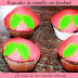 Cupcakes de vainilla con fondant