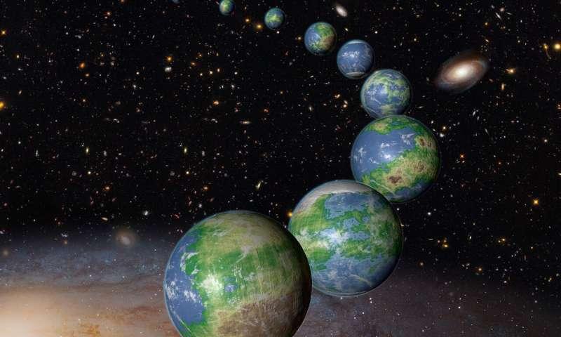 Fingerprint of Earth's Atmosphere