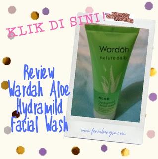 Wardah nature daily facial wash