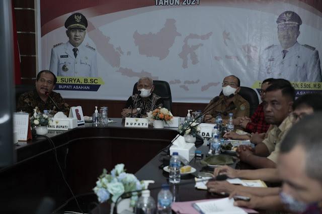 Pemkab Bersama Bakamla Akan Membangun  Sistem Komunikasi Maritim Stasiun Peringatan Dini Bakamla RI di Kabupaten Asahan