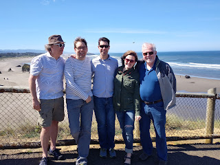 Bandon, Oregon - Halie Loren band/family
