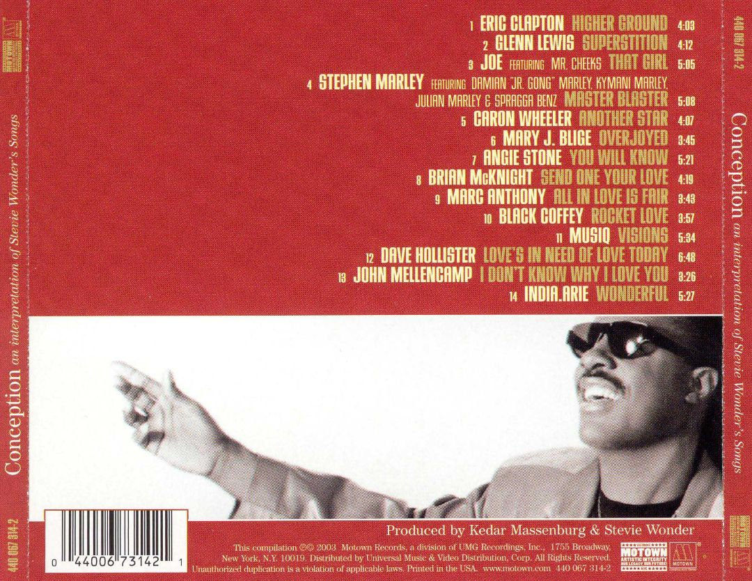 Conception (An Interpretation Of Stevie Wonder's Songs
