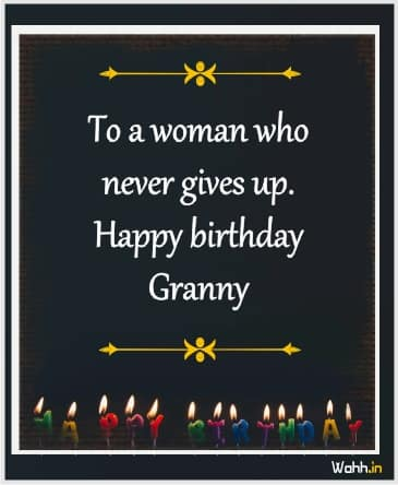 Heart Touching Birthday Wishes For Grandmother In English