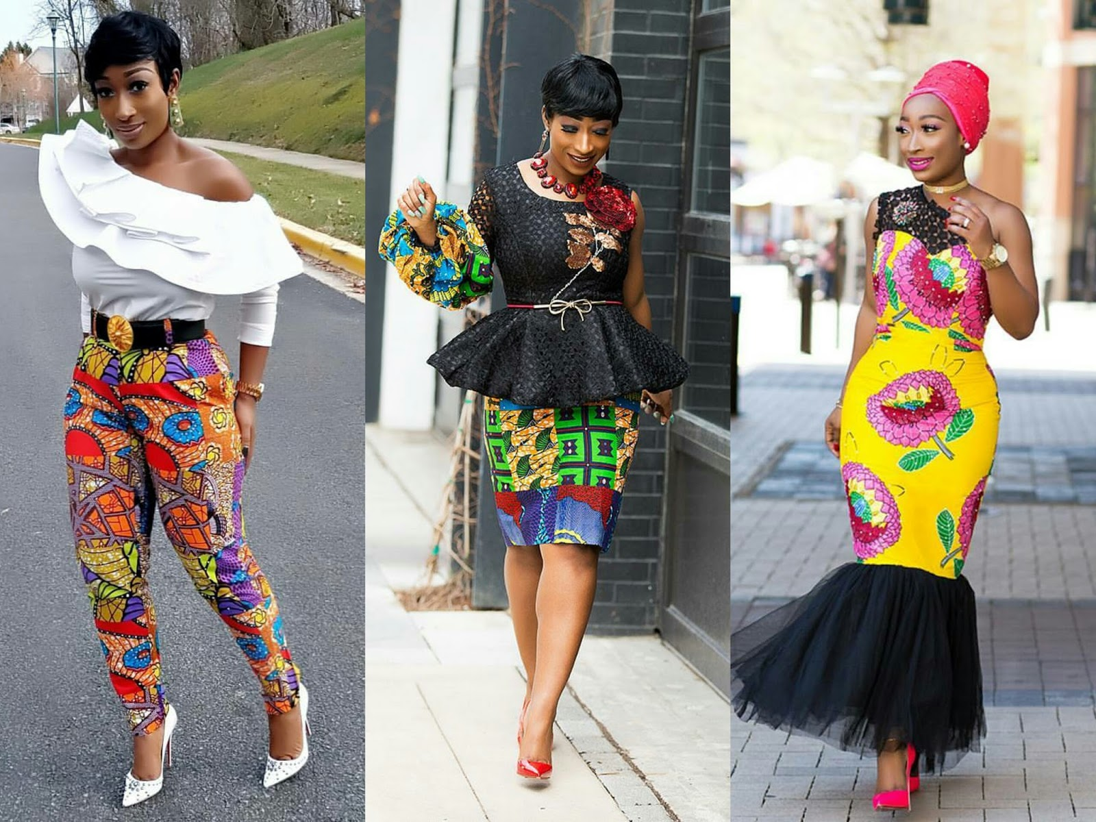 Trendy Style You Need To Copy These Top 10 African Prints Clothings Inspired By Chic Ama Style