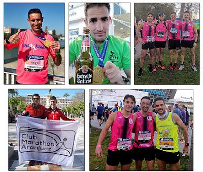 Atletismo Aranjuez Sevilla Maratón
