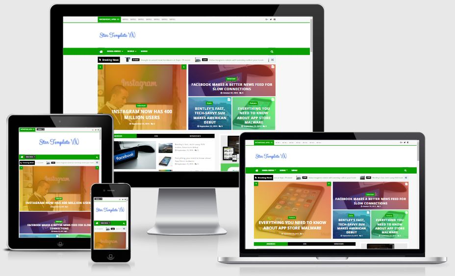 Nhận miễn phí template blogspot Techwise Premium Version
