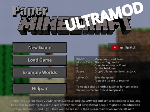 Paper Minecraft SUPERMOD
