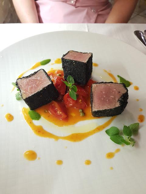 Cena al ristorante da Achille a Sant'Antioco
