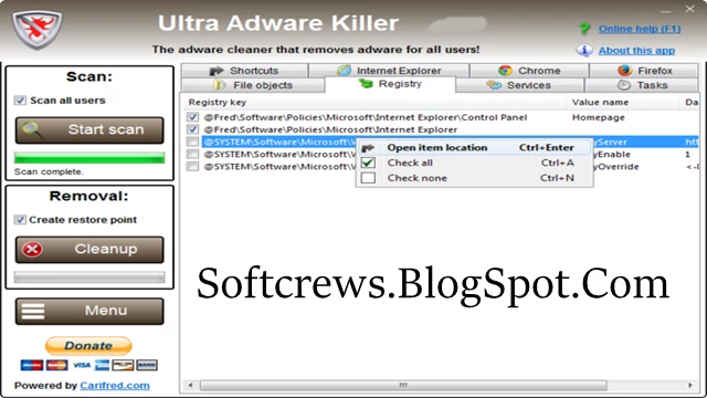 Ultra Adware Killer Download Latest Version For PC