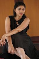 Khanishka new telugu actress in Black Dress Spicy Pics 24.JPG